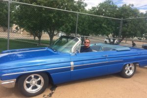 Cloyd in the 62 Olds